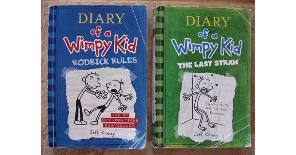 Jeff Kinney Set Of 2 Books By Jeff Kinney