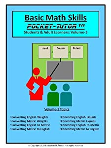 Basic Math Skills Pocket-Tutor Vol-5 (Pocket-Tutor Series)