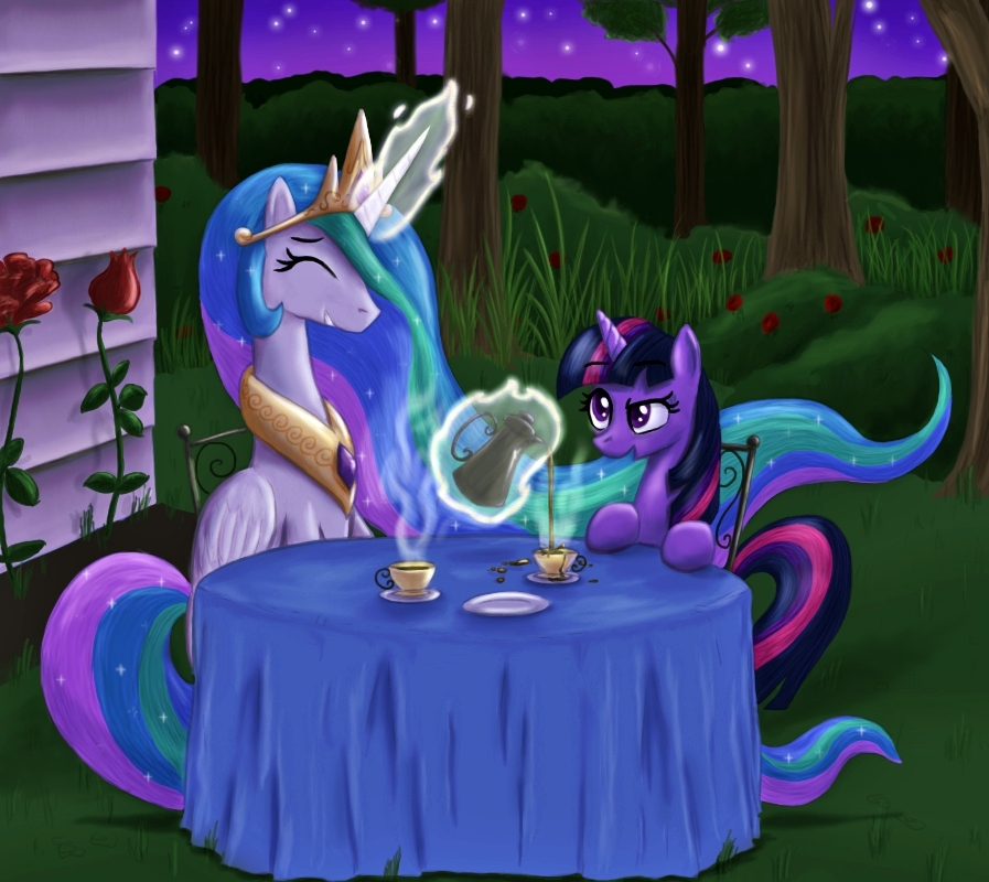 A Most Irregular Tea Party  by  presentperfect