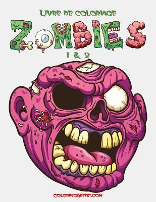 Livre de coloriage Zombies 1 & 2