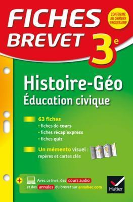Fiches Brevet Histoire-Geographie Education Civique 3e: Fiches de Revision