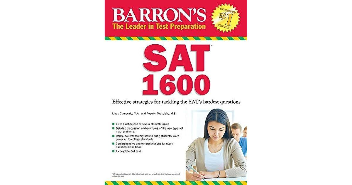 barrons sat book 26th edition