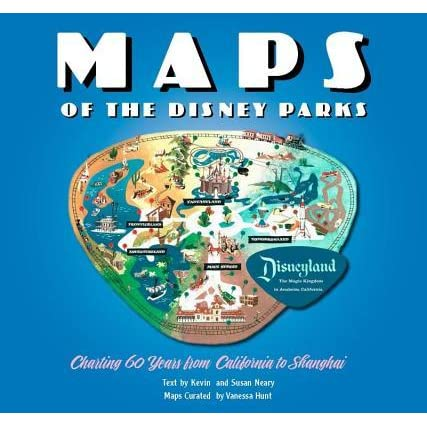 Maps of the Disney Parks: Charting 60 Years from California