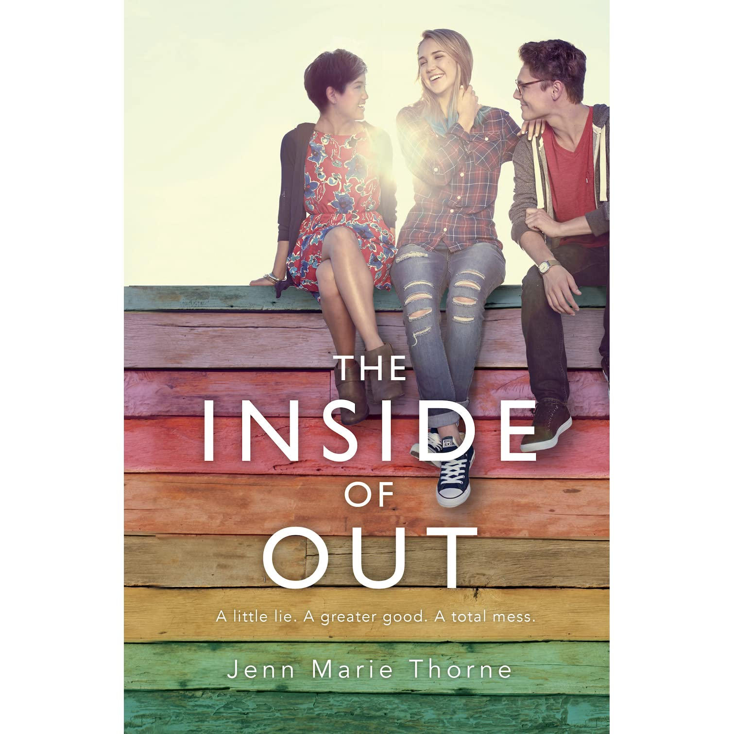 The Inside Of Out By Jenn Marie Thorne €� Reviews, Discussion, Bookclubs,  Lists