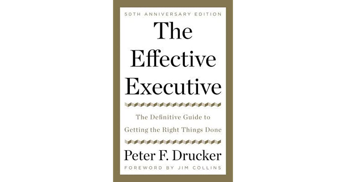 management and leadership principles peter f drucker Management tasks, responsibilities, practices peter f drucker to think through policies, principles and practices.