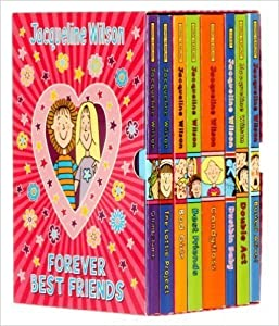Jaqueline Wilson Box Set Forever Best Friends Books,