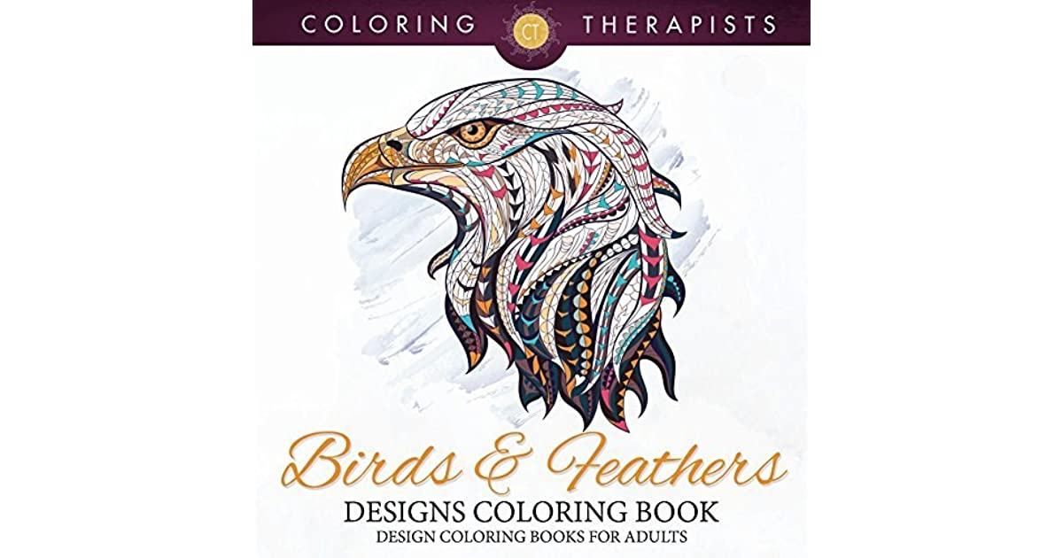 Birds Feathers Designs Coloring Book