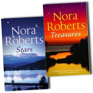 Nora Roberts Collection The Stars of Mithra 4 Novels In 2 Books Set Pack New PB (Stars - Hidden Star, Captive Star; Treasures: Secret Star, Treasures Lost, Treasures Found)