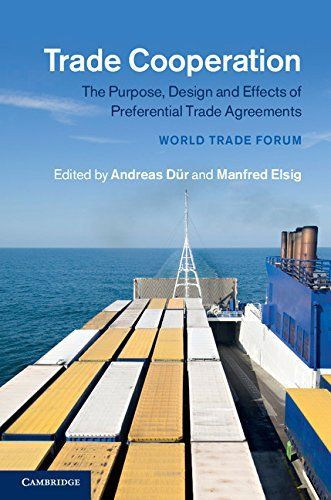 Trade Cooperation The Purpose, Design and Effects of Preferential Trade Agreements