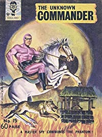 Indrajal Comics-15-Phantom (Rare Gem): The Unknown Commander (1965)