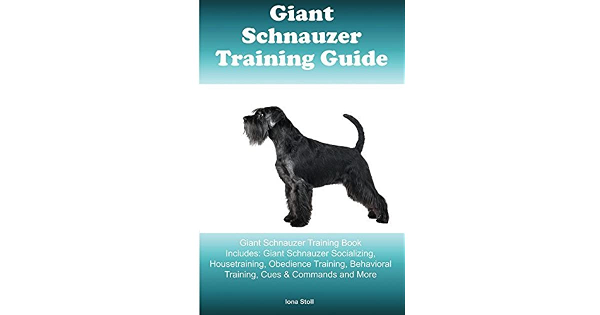 Giant Schnauzer Training Book Includes