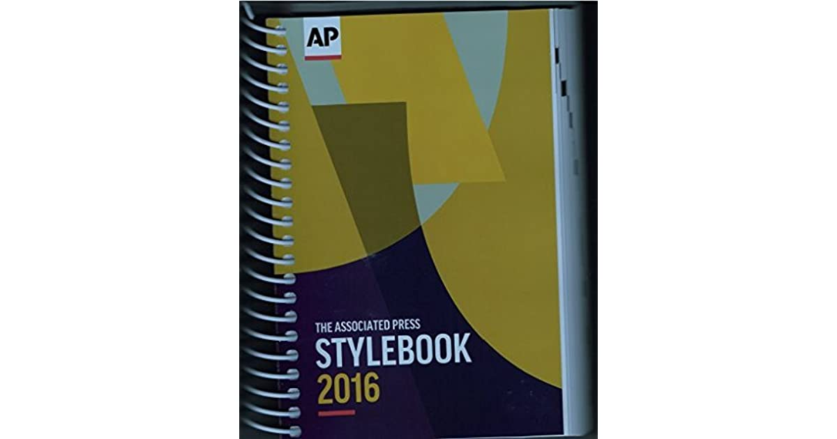 The 2016 associated press stylebook and briefing on media law by the 2016 associated press stylebook and briefing on media law by associated press fandeluxe Choice Image