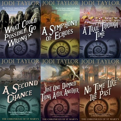 The Chronicles of St. Mary's Series #1-6 by Jodi Taylor