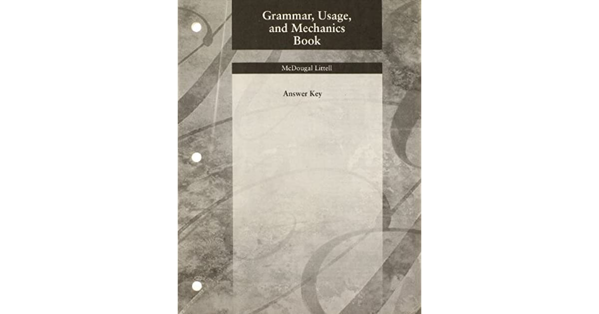 Language Network Grammar Usage And Mechanics Book Answer
