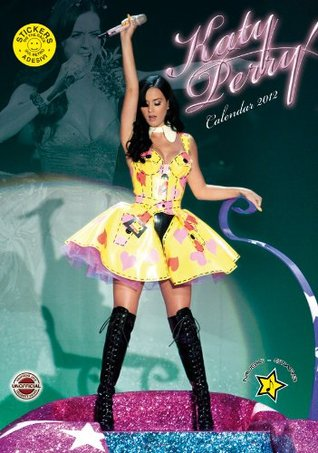 Katy Perry A3 2012 Calendar with FREE Stickers