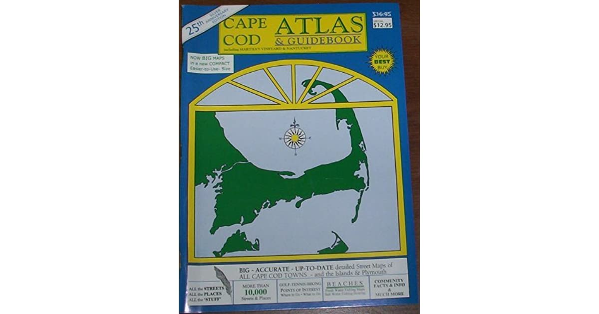 Cape Cod Atlas & Guidebook by Butterworth Map Company