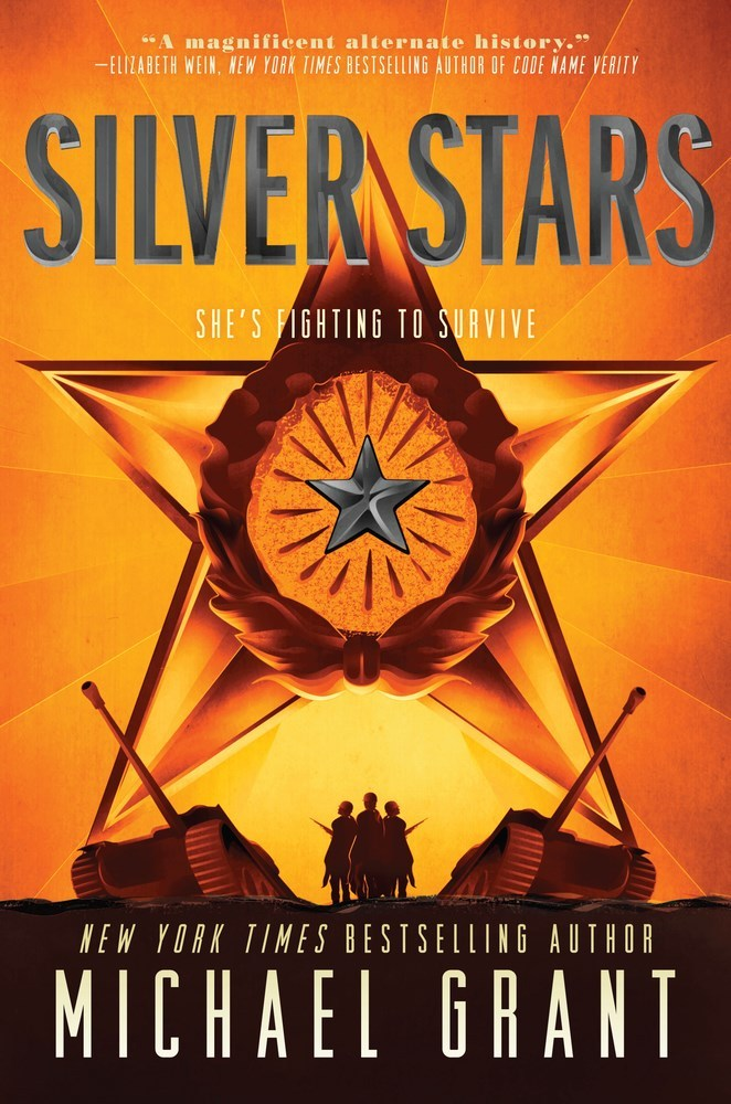 Book Cover Series January : Book giveaway for silver stars front lines by