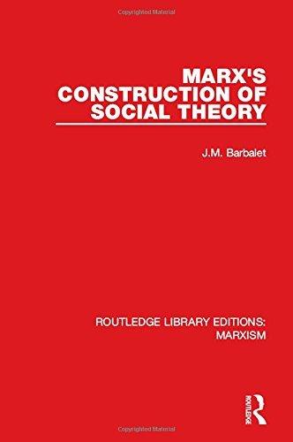 Marx's construction of social theory
