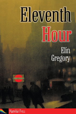 Book Cover showing scene in rainy London street