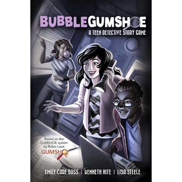 Bubblegumshoe: A Teen Detective Story Game by Emily Care Boss