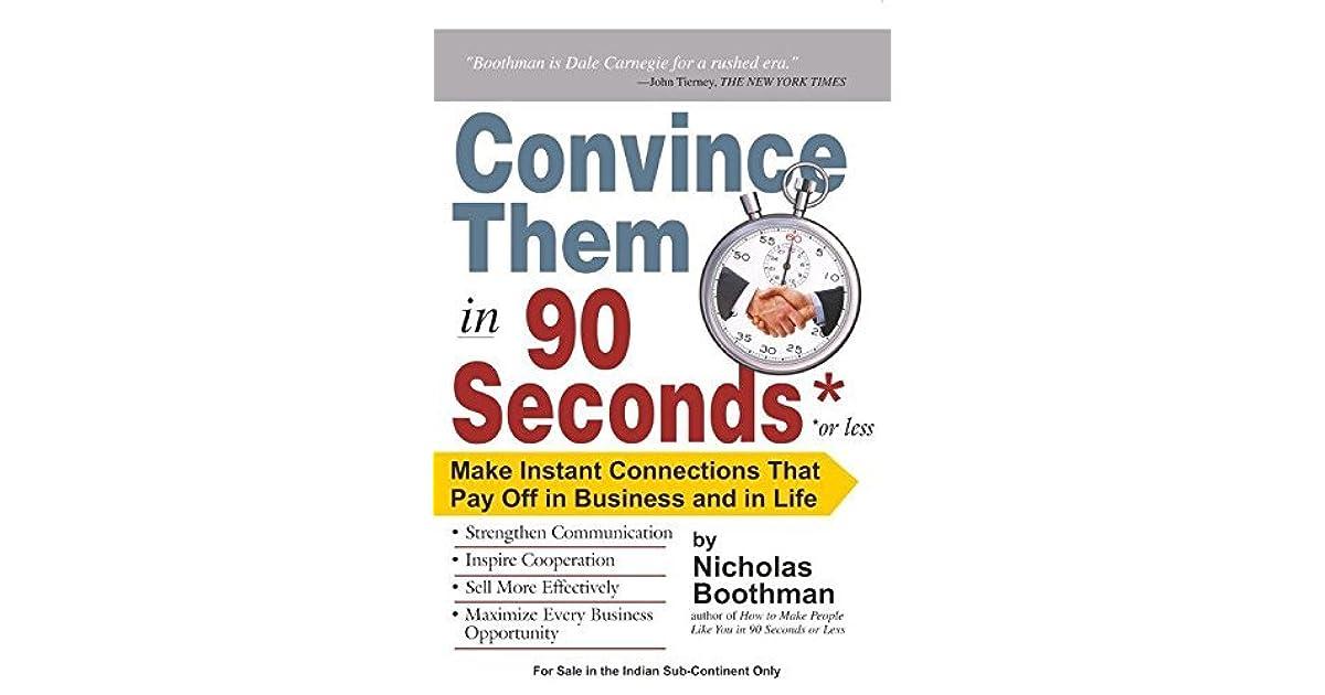 Convince Them In 90 Seconds Pdf   www.aksigmund