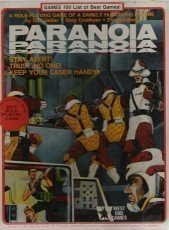 Paranoia: Role Playing Game Of A Darkly Humorous Future (1st Edition) [Box Set]