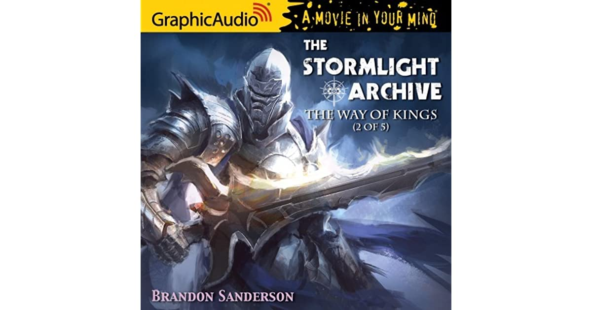 graphic audio brandon sanderson