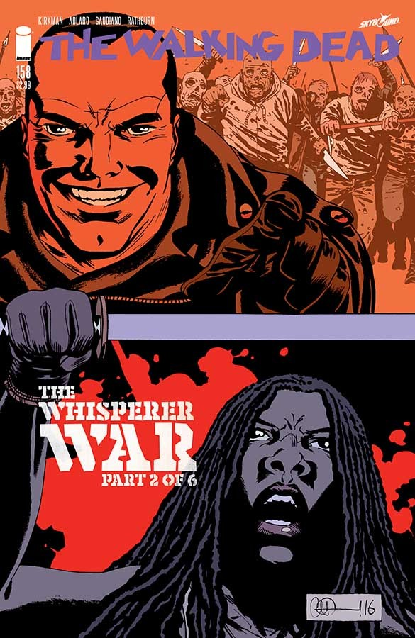 The Walking Dead, Issue #158