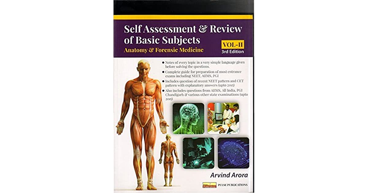 Self Assessment & Review of Basic Subjects, Vol-II: Anatomy