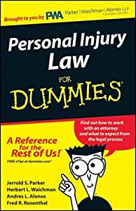 Personal Injury Law for DUMMIES