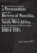 We Are Proud to Present a Presentation about the Herero of Na... by Jackie Sibblies Drury