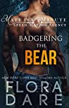 Badgering the Bear (Mate in a Minute Speed Dating Agency, #1)