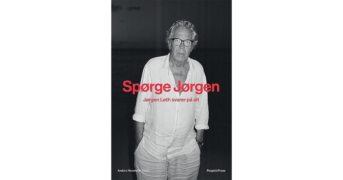 Rørig Spørge Jørgen by Jørgen Leth YB-56