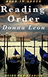 Reading Order: Donna Leon: Commissario Guido Brunetti in Chronological Order