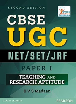 CBSE UGC NET/SET/JRF: Paper I - Teaching and Research Aptitude