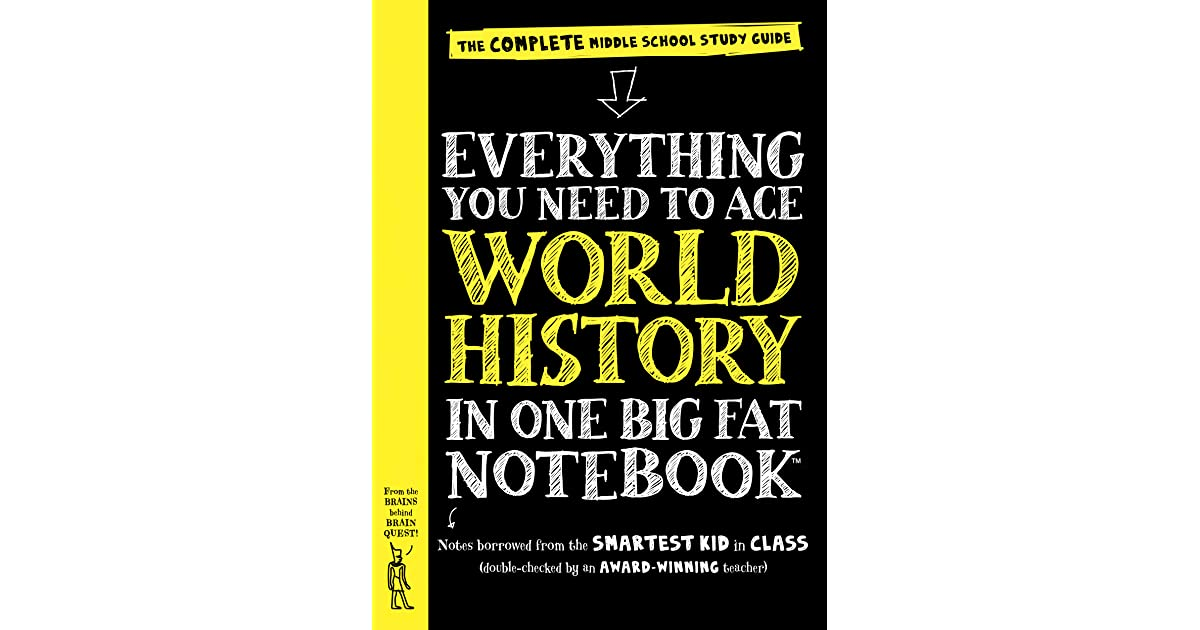 Everything You Need To Ace World History In One Big Fat Notebook The Complete Middle School Study Guide By Ximena Vengoecheo