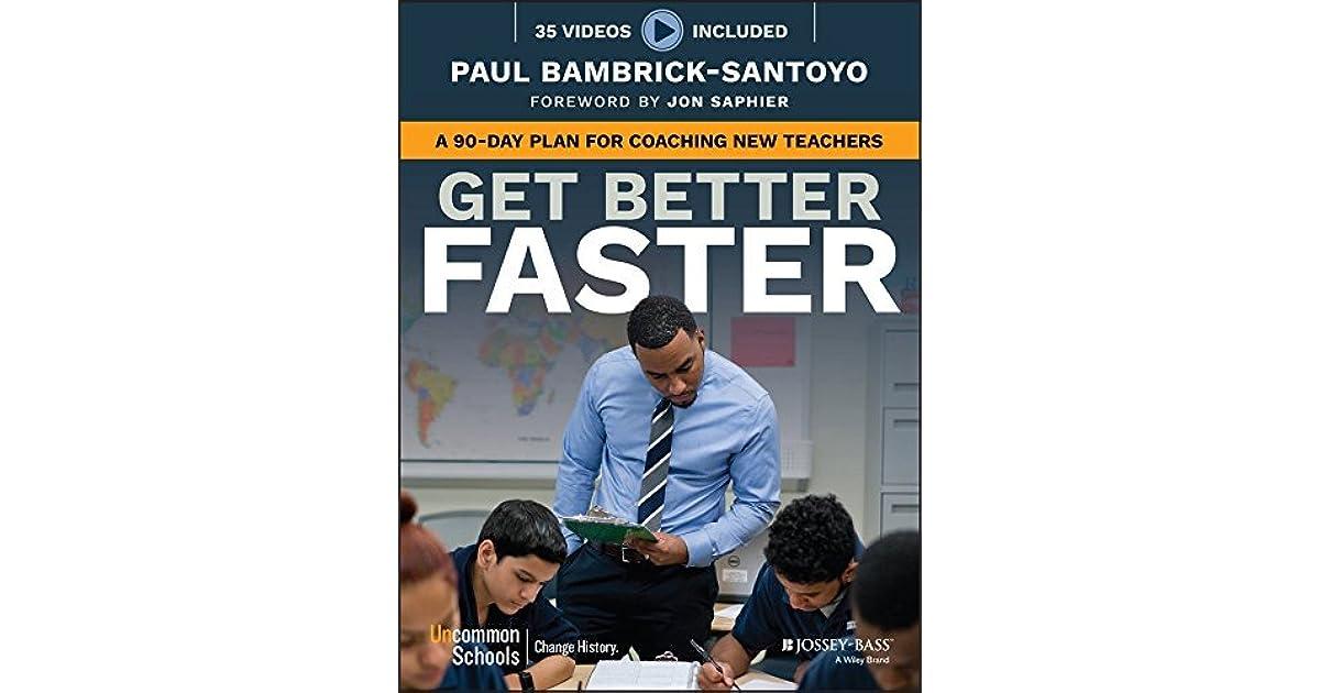 "Image result for get better faster book"""
