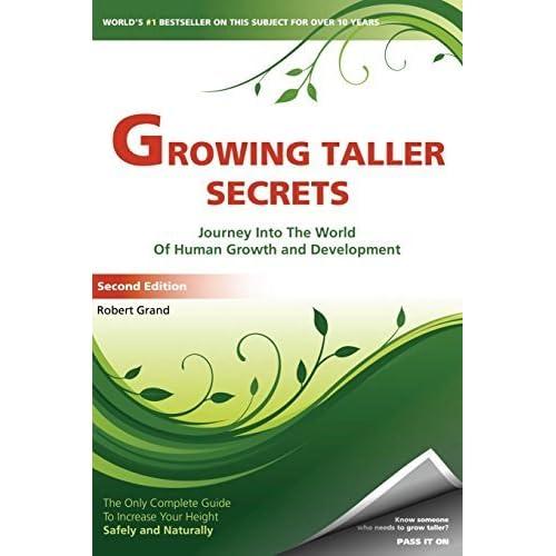 Growing taller secrets book. Real secrets. Guaranteed results.