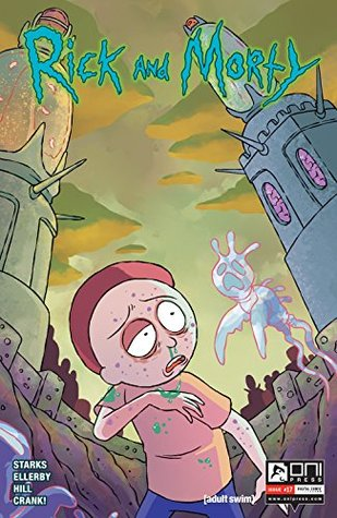 Rick and Morty #17 by Kyle Starks