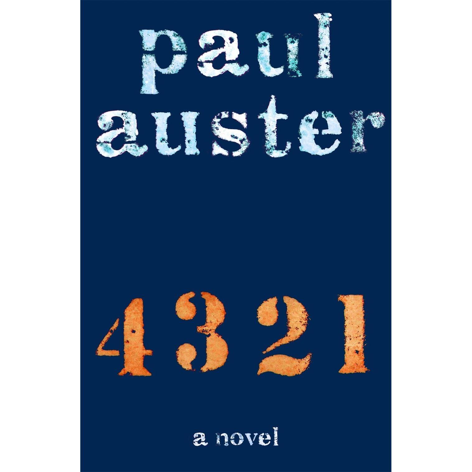 GRATUIT PAUL TÉLÉCHARGER 4321 AUSTER