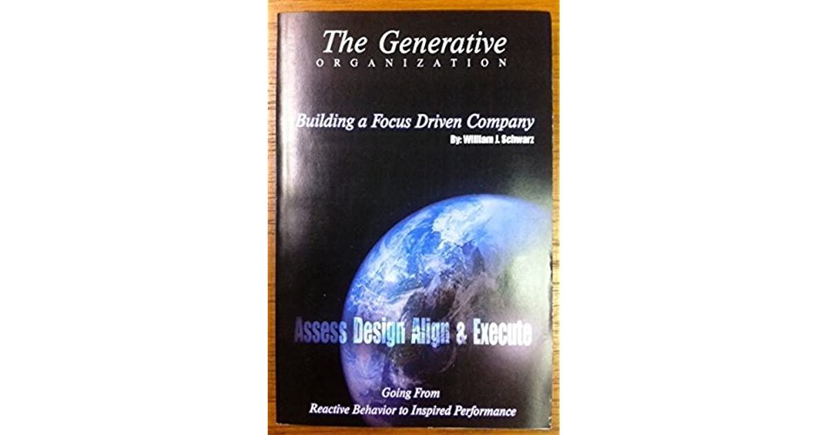 Generative organization : going from reactive behavior to