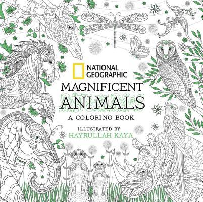 National Geographic Coloring Book Animals