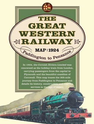 Great Western Railway Map, 1924 (Paddingtonto Penzance)