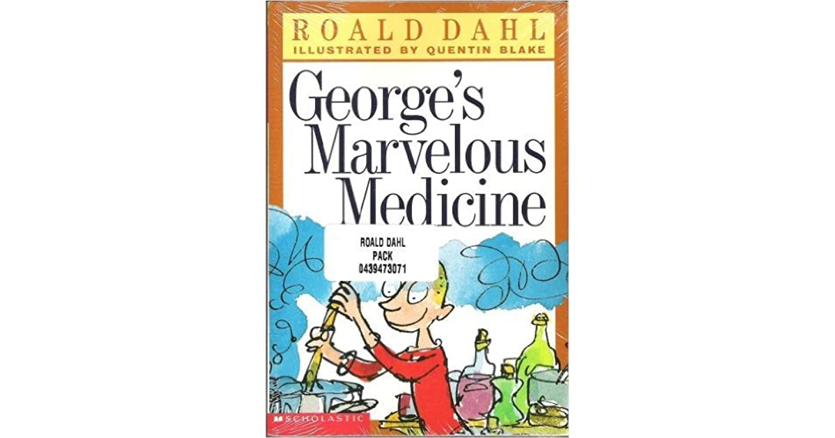 George S Marvelous Medicine The Twits The BFG By Roald Dahl