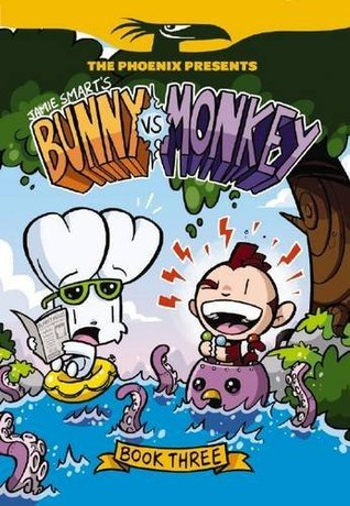 Bunny vs Monkey: Book 3