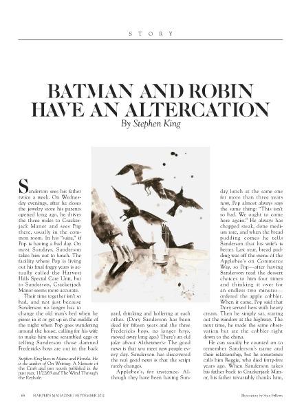 Batman and Robin have an Altercation