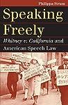 Speaking Freely by Philippa Strum