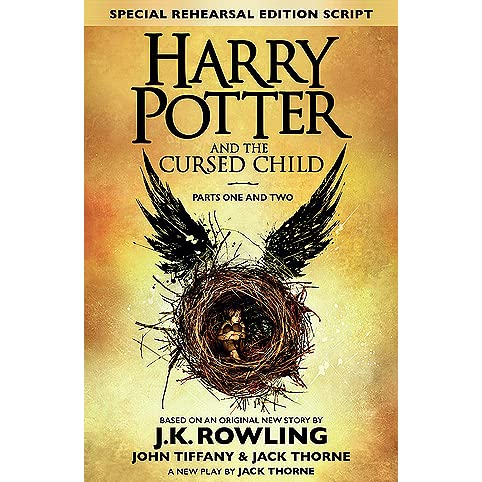 a9d9db245e3ce Harry Potter and the Cursed Child: Parts One and Two by John Tiffany