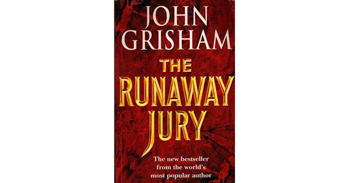 the runaway jury essay example Essay runaway jury helped show the viewer the different ways a juror is selected while what was done in the movie is illegal, it gave me a very good understanding of what is sought for in a juror.