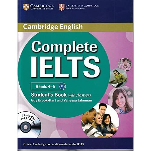 Complete Ielts Bands 4 5 Students Book With Answers By Jakeman